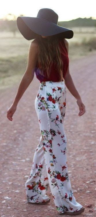Typically, I dress very bohemian chic. It's just very me. Some flowers, and just all around artsy. I love dressing like this, because it mirrors who I am on the inside. I mean, sometimes I do some t-shirts and shirts with a cause, but this is all very me. ~@amandalockheart