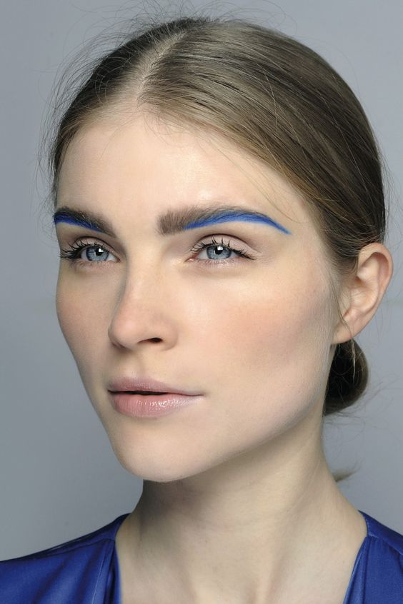 HAIR COLOUR Make-up Trends Fashion Week Autumn/Winter 2014/2015