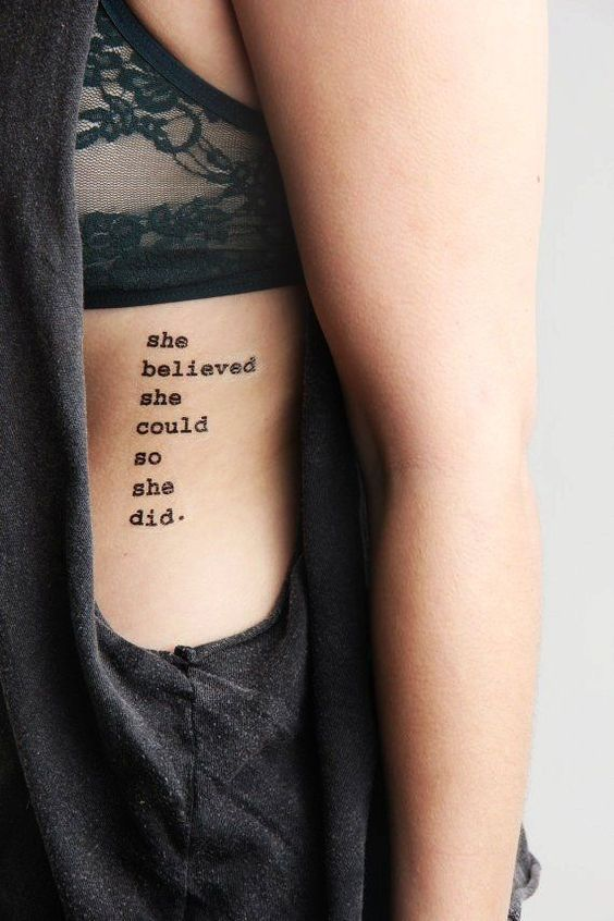 She believed she could so she did. #amen