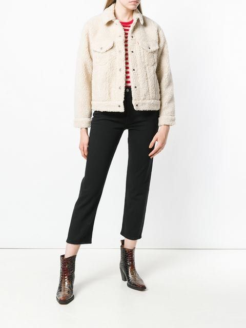 Levi's faux shearling jacket
