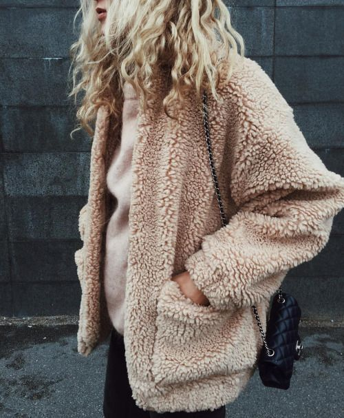 teddy fur jacket fluffy faux fur coat camel street styles winter outwears Extra 10% off, a MUST HAVE clothing for cold weather #fauxfur #jacket #coat #coatjacket