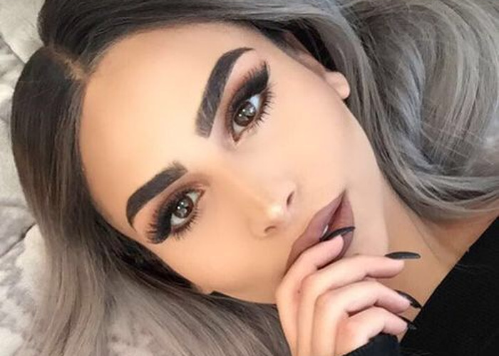Image result for eyebrows trend
