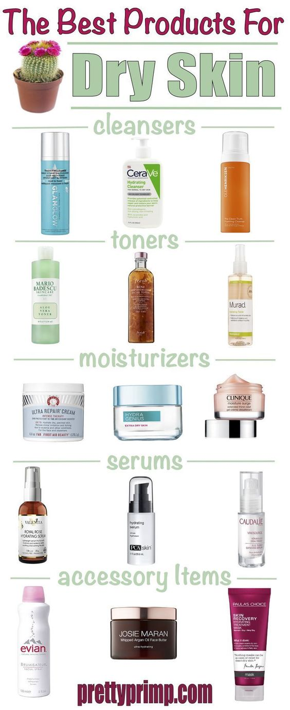 Check out the best products for dry skin from the drugstore and high end! These skincare products for dry skin will help with the winter season as well. #dryskin #dryskinremedies #dryskinrelief #skincareroutine