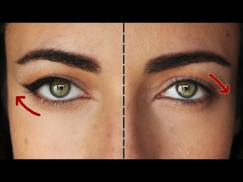 How To: The Perfect Eyeliner For Downturned Eyes ...