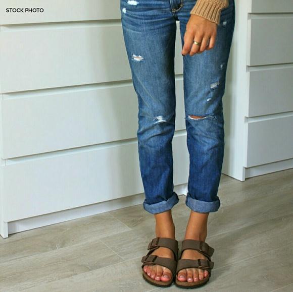 Birkenstock Shoes | Unisex Arizona Leather Sandal | Poshmark