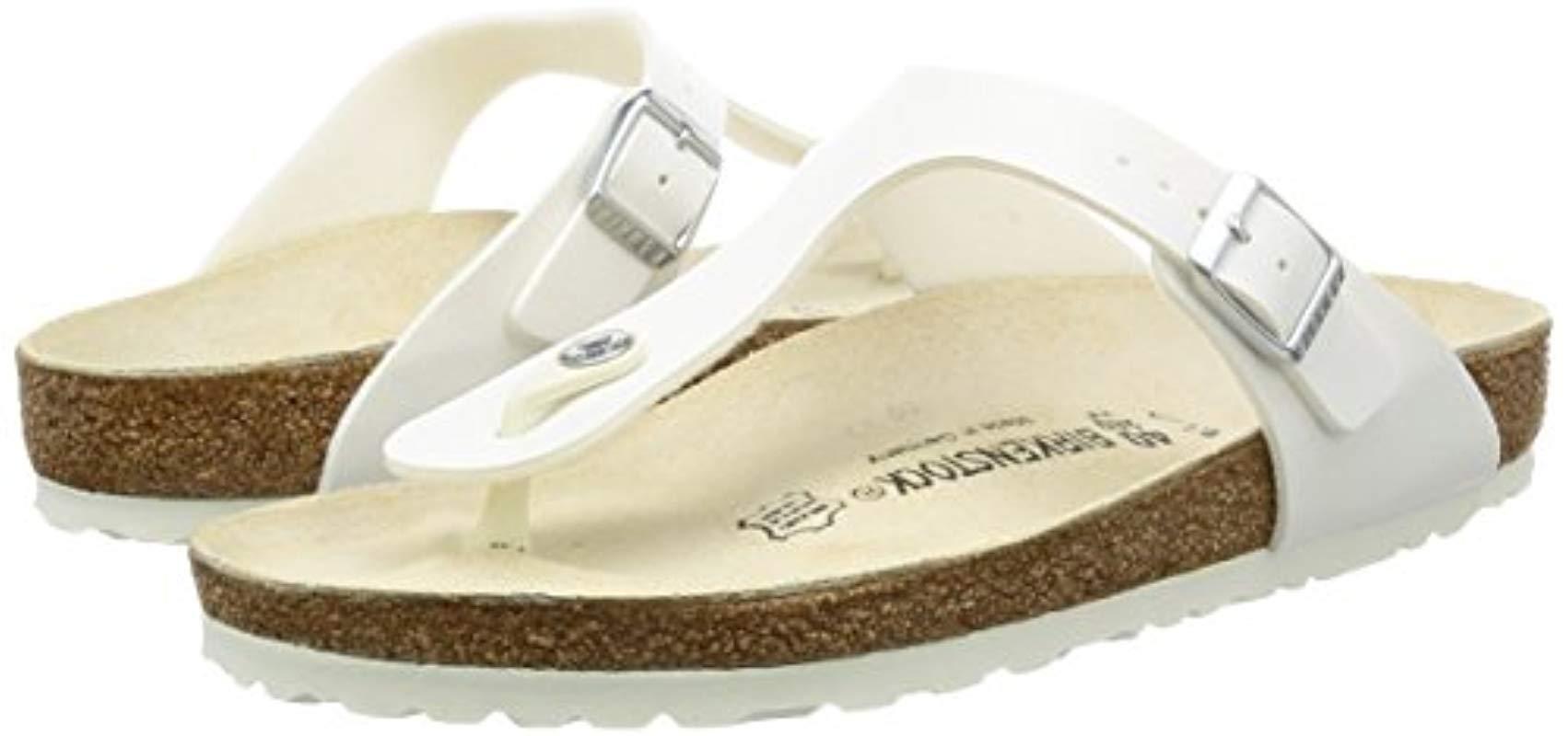Birkenstock Leather 43731 Gizeh Style Sandal - Lyst