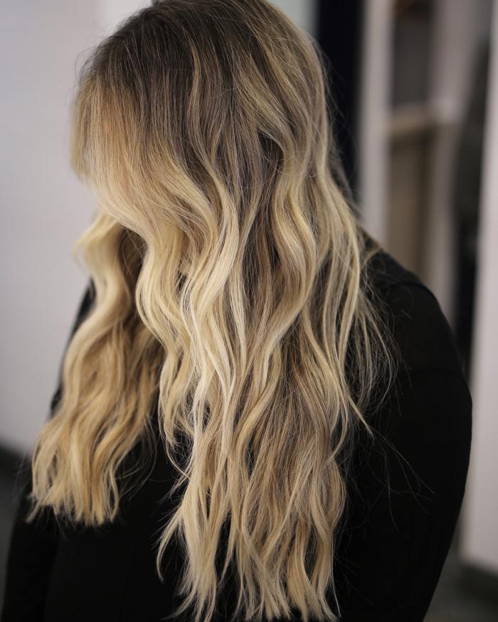 balayage ombre hair color ideas 1 10 Amazing Ombré and Balayage Hair Color Ideas