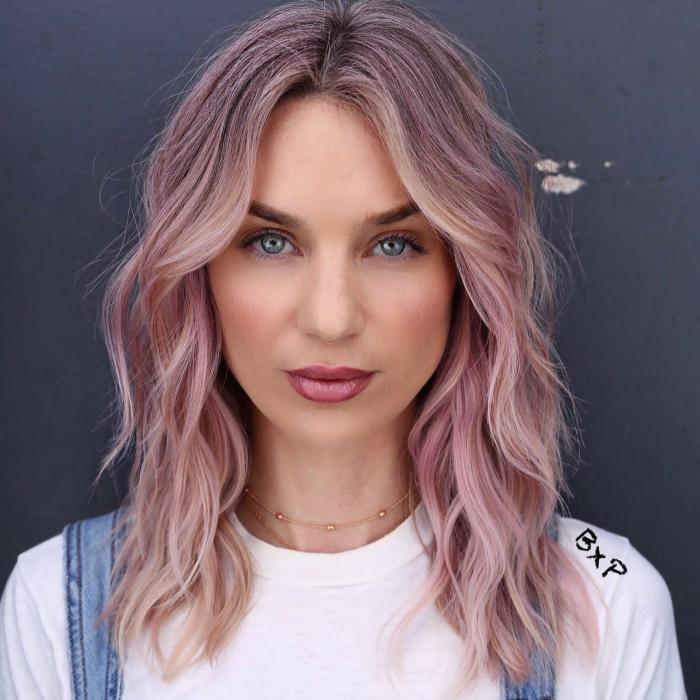 balayage ombre hair color ideas 2 10 Amazing Ombré and Balayage Hair Color Ideas
