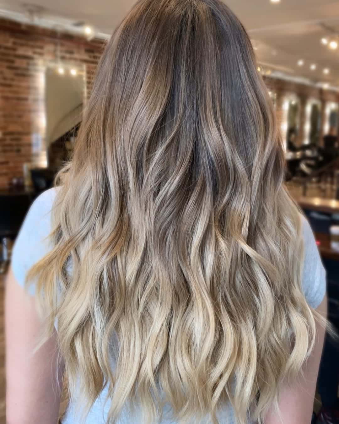 beach wave hair