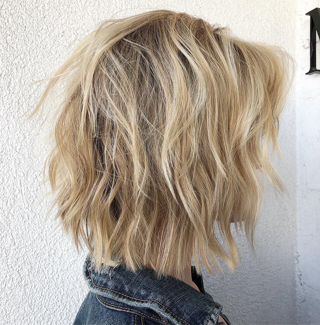 bob hairstyles for short hair 12 7 Best Classic, Trendy Blonde Bob Haircuts & Bob Hairstyles