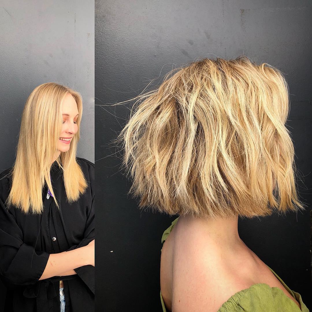 bob hairstyles for short hair 2 7 Best Classic, Trendy Blonde Bob Haircuts & Bob Hairstyles