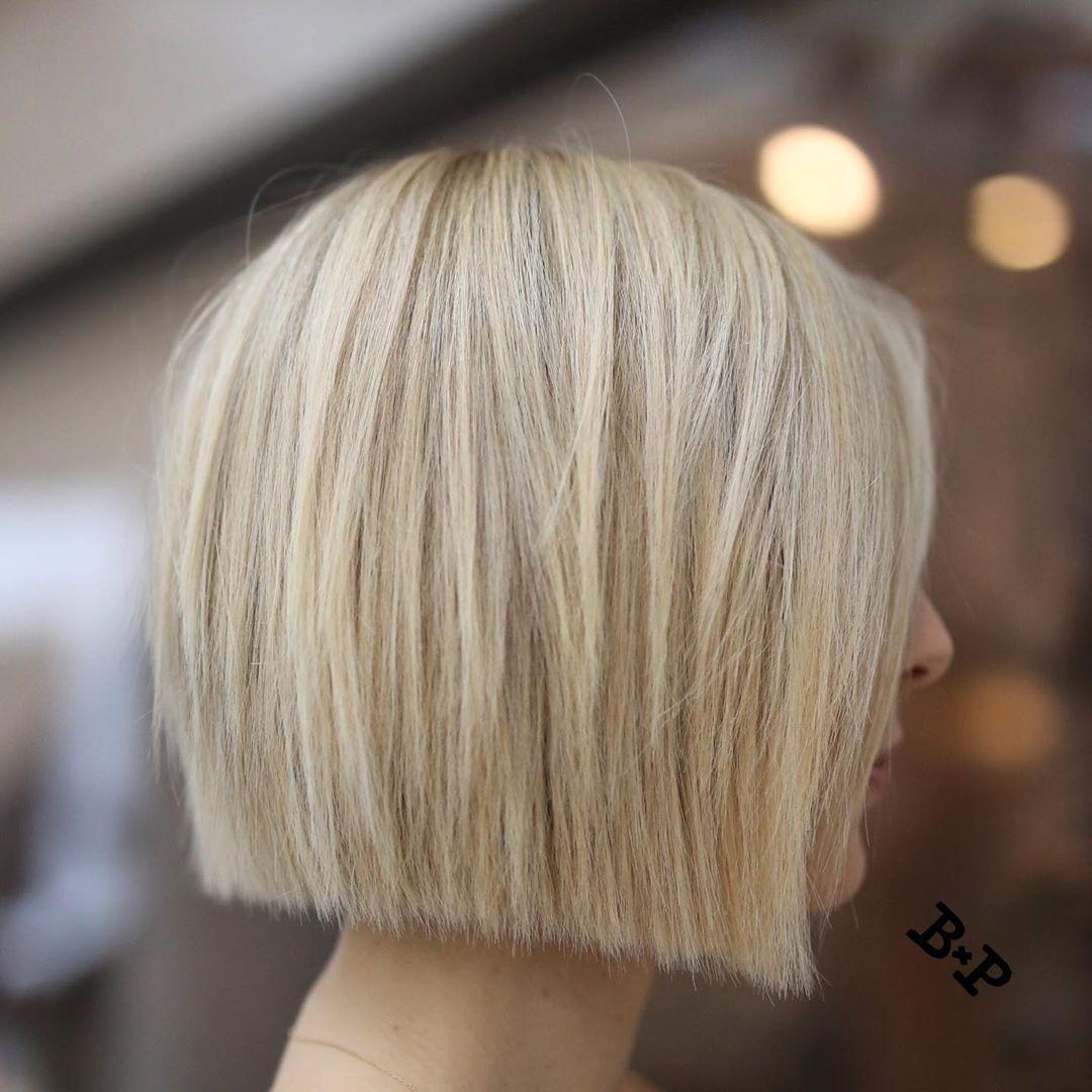 bob hairstyles for short hair 5 7 Best Classic, Trendy Blonde Bob Haircuts & Bob Hairstyles
