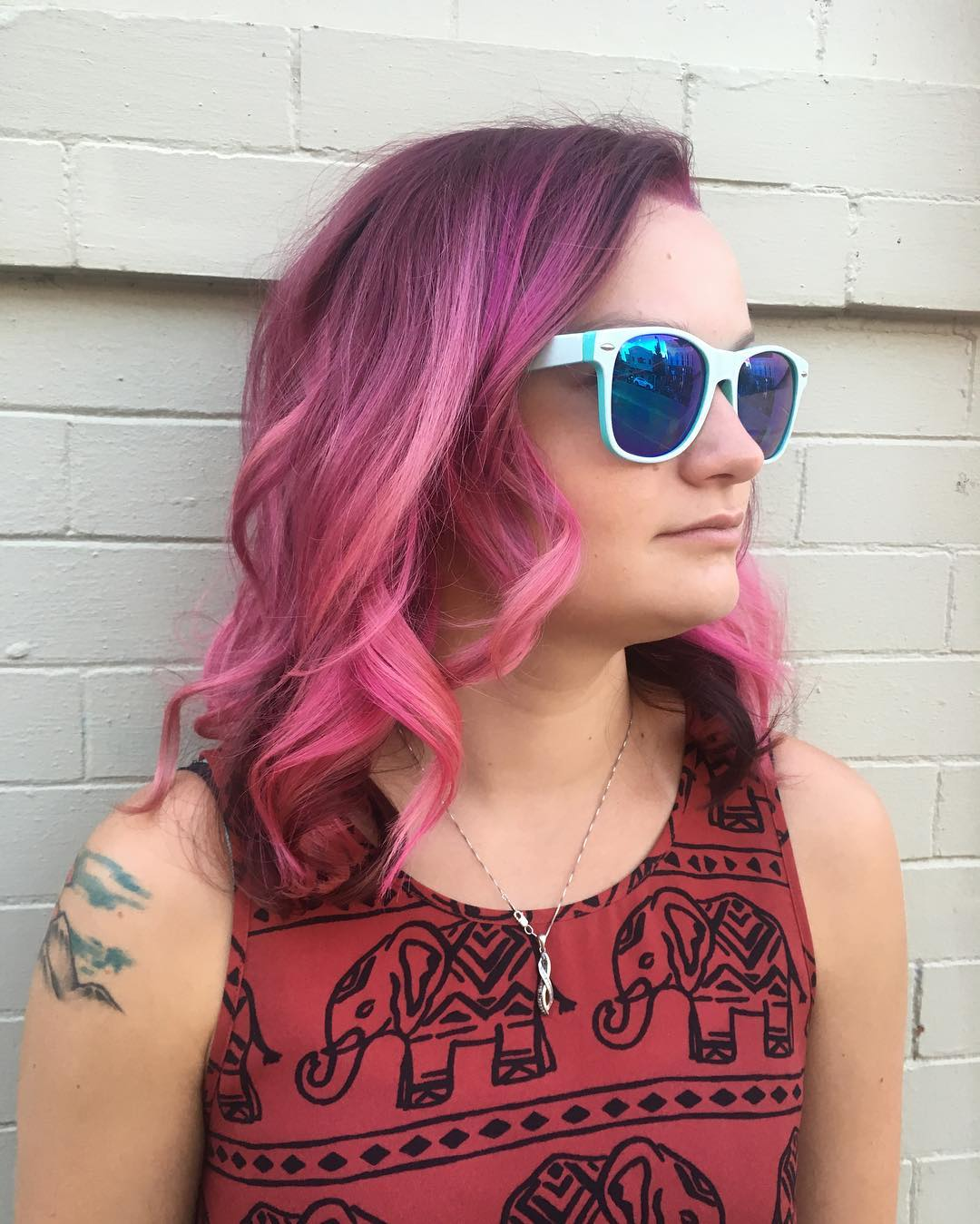 red hairstyle for summer