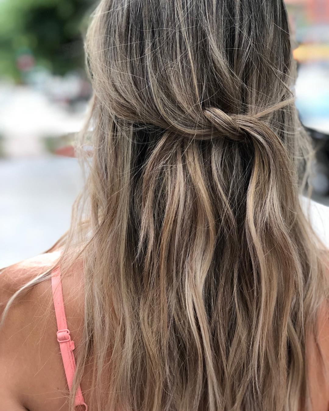 loose braid for summer