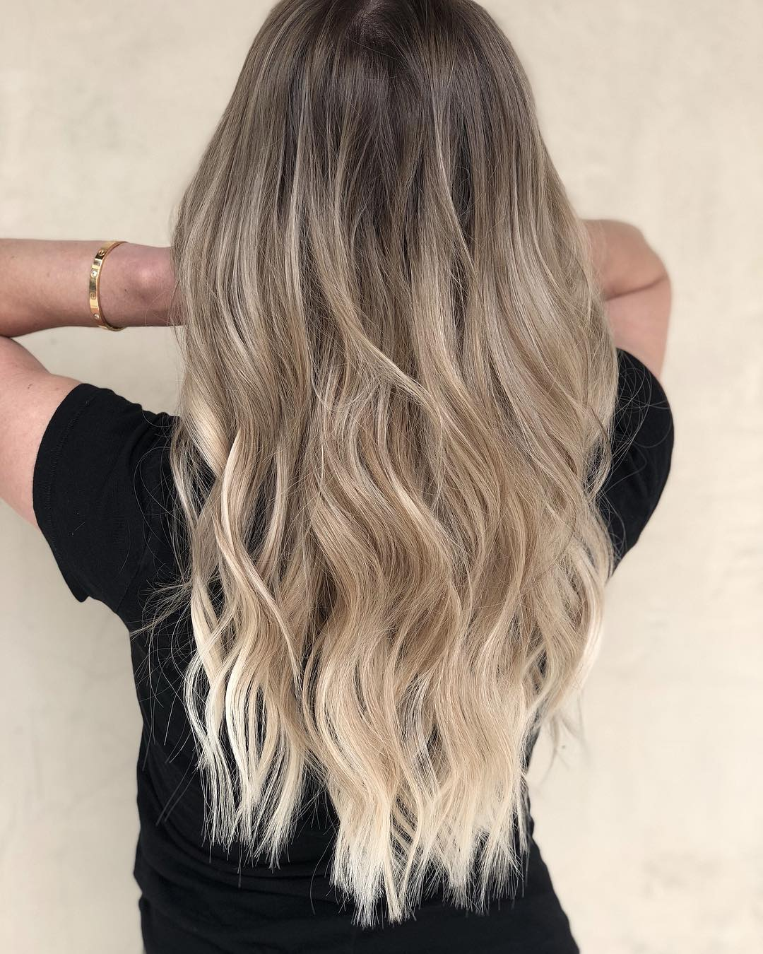 cute long hairstyle for summer