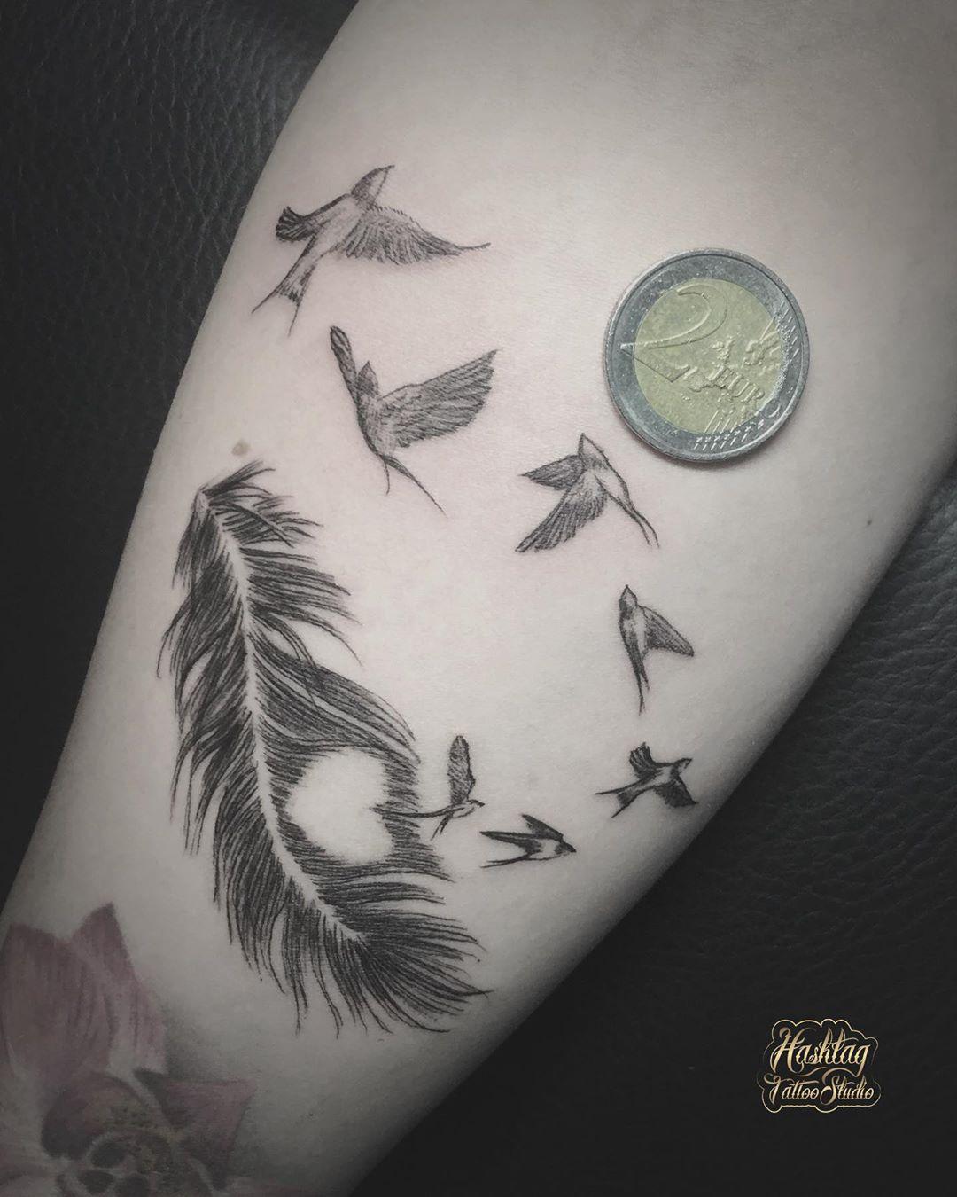 Fineline birds & feather