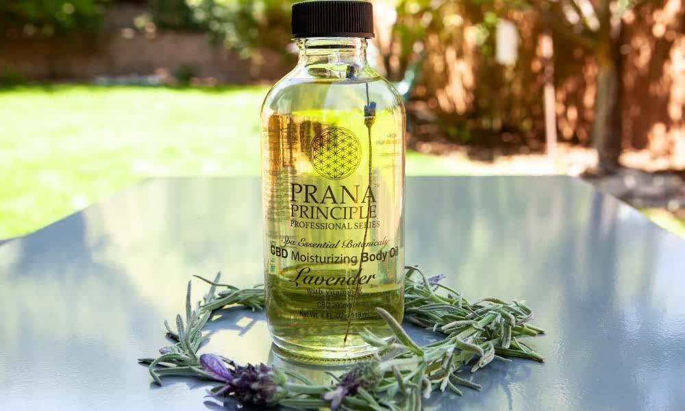 Prana CBD Body Oil