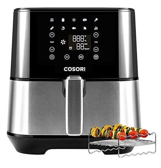 Cosori Air-fryer: Cosori Stainless Steel 5.8Qt Air-fryer