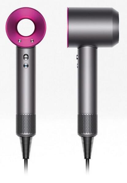 Dyson Supersonic™ hair dryer in iron/fuchsia