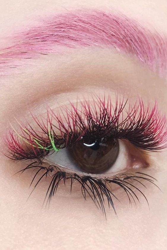 Rainbow Eyelash Extensions Are the Beauty Trend You Didn't Know You Wanted