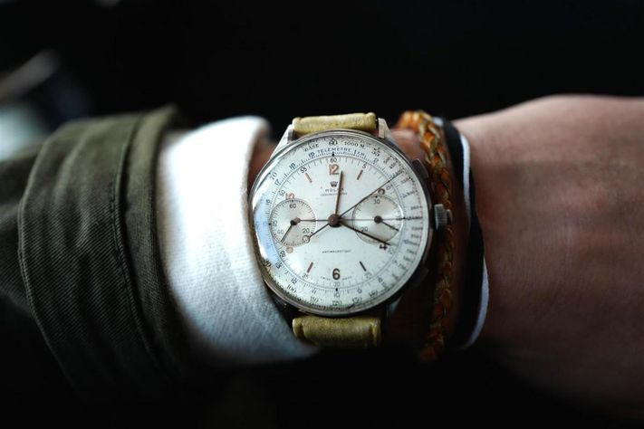 Steel Rolex From 1942 Sets Auction Record, Sells For Nearly .5 Million At Phillips Geneva