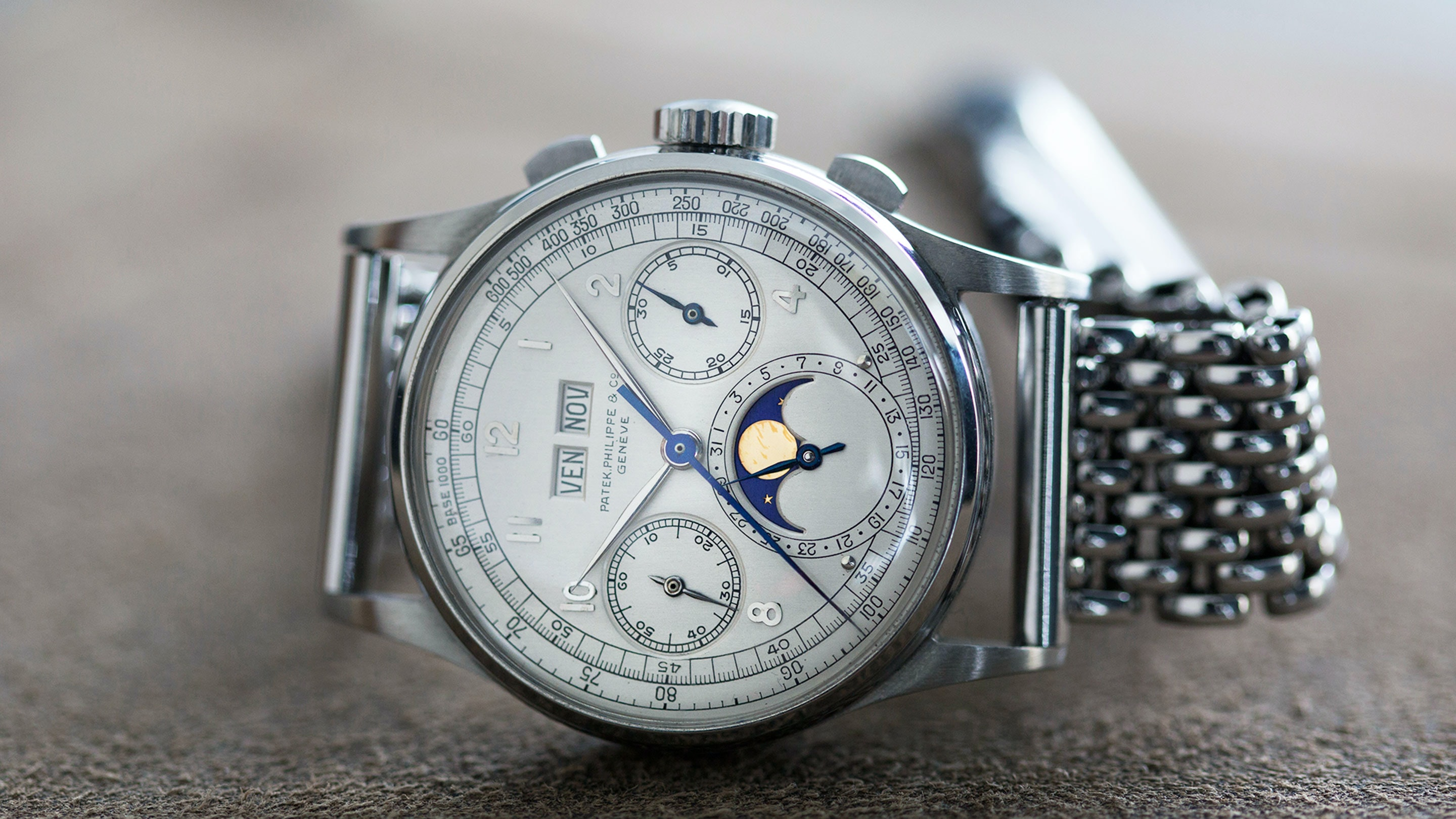 Breaking News: Stainless Steel Patek Philippe Ref. 1518 Sells For Over ,000,000 At Phillips Geneva (And Sets A New World Record For ANY Wristwatch) - HODINKEE