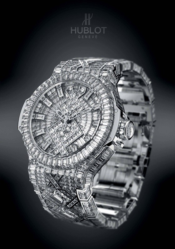 Hublot's US million Big Bang watch just may be the most expensive ever made
