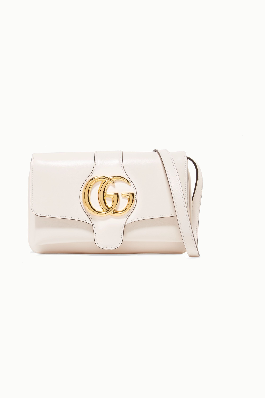Ivory Arli medium leather shoulder bag | Gucci | NET-A-PORTER