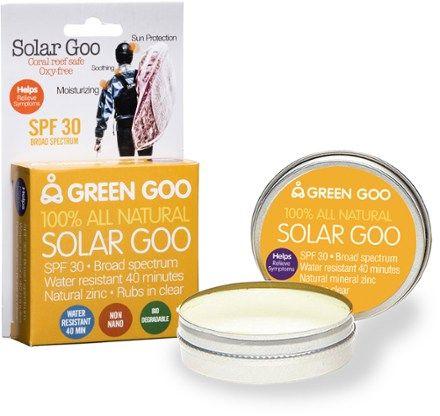 GREEN GOO Solar Goo Tin Sunscreen SPF 30 - 1.82 oz.