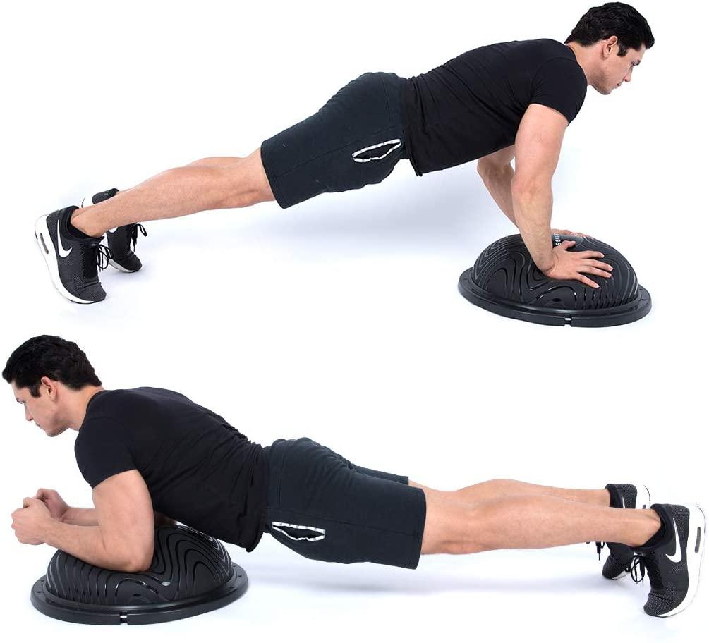 10 best bosu balls – exercise for weight loss muscle toning herstylecode 2 10 Best Bosu Balls (Balance Trainer) 2021 – Exercise for Weight Loss and Muscle Toning