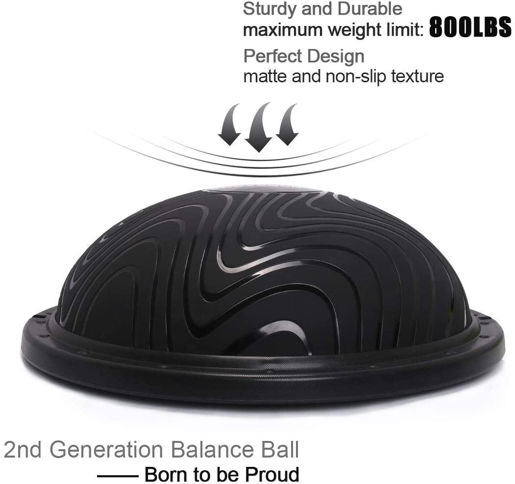10 best bosu balls – exercise for weight loss muscle toning herstylecode 4 10 Best Bosu Balls (Balance Trainer) 2021 – Exercise for Weight Loss and Muscle Toning