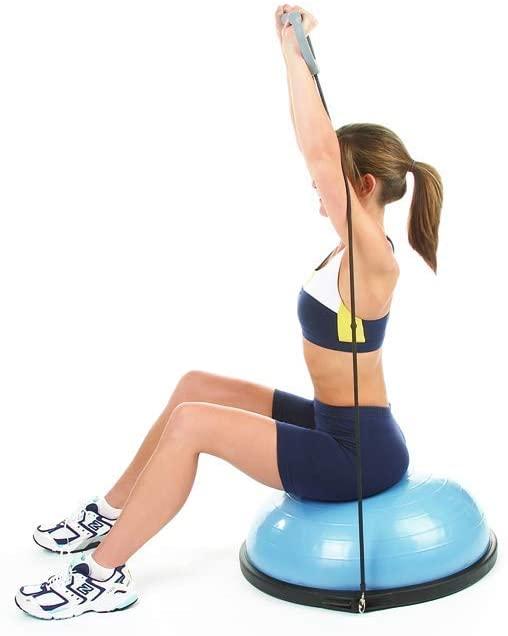 10 best bosu balls – exercise for weight loss muscle toning herstylecode 9 10 Best Bosu Balls (Balance Trainer) 2021 – Exercise for Weight Loss and Muscle Toning