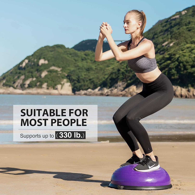10 best bosu balls – exercise for weight loss muscle toning herstylecode 10 Best Bosu Balls (Balance Trainer) 2021 – Exercise for Weight Loss and Muscle Toning