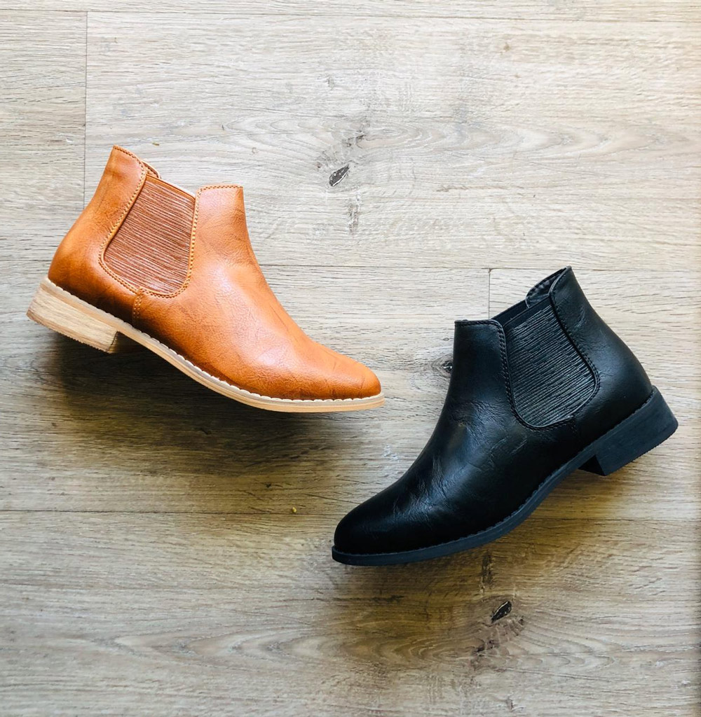 Flat-Ankle-boots