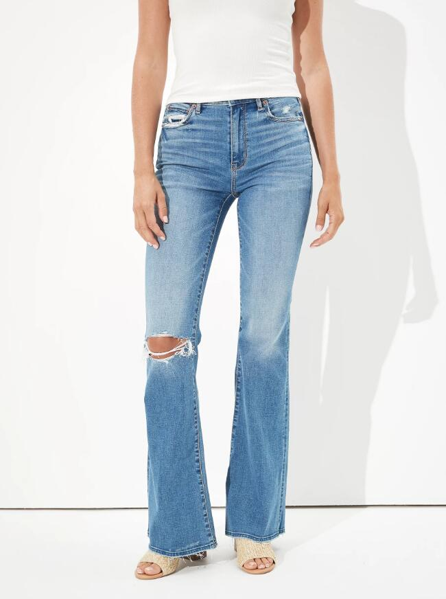 Super High Waisted Flare Jean How to Wear Flare Jeans - The Ultimate Flare Jeans Styling Guide