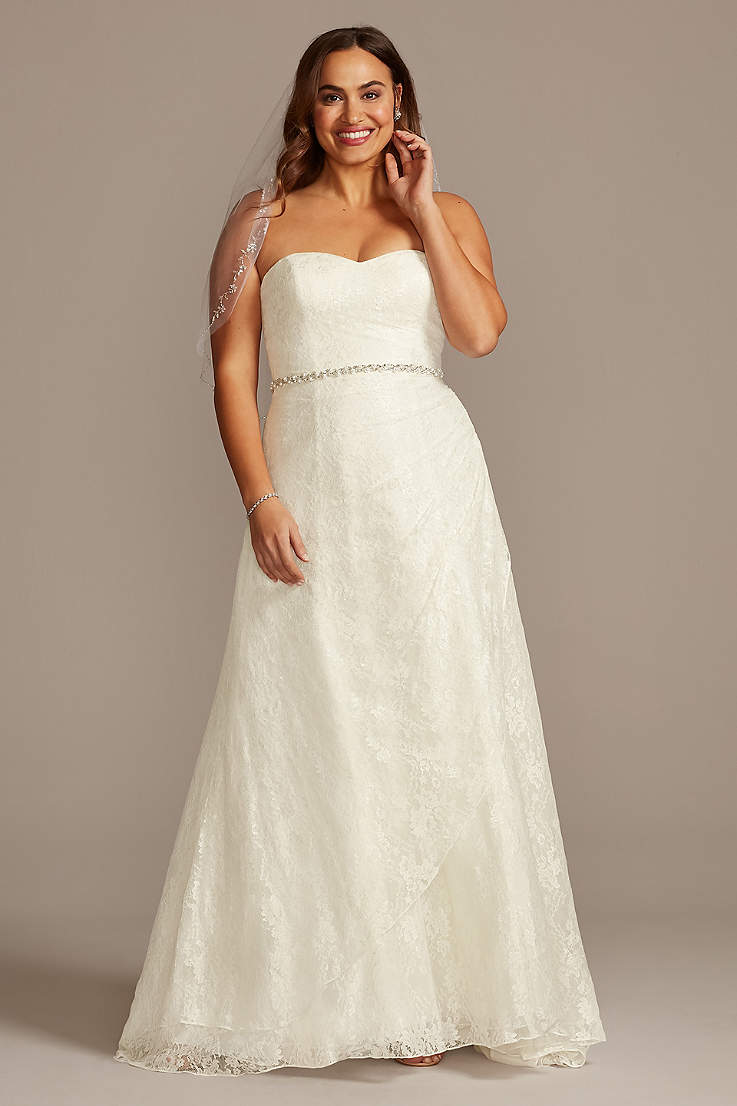 Lace Wedding Dresses & Gowns | David's Bridal
