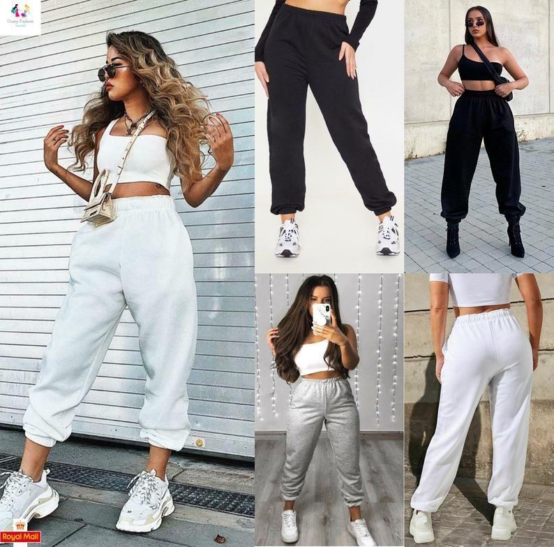 stylish ways to wear sweatpants for ladies herstylecode What to Wear with Sweatpants? Stylish Ways to Wear Sweatpants for Ladies