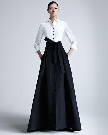 Carolina Herrera - Taffeta Gown | Fashion, Beautiful dresses, Ball gowns