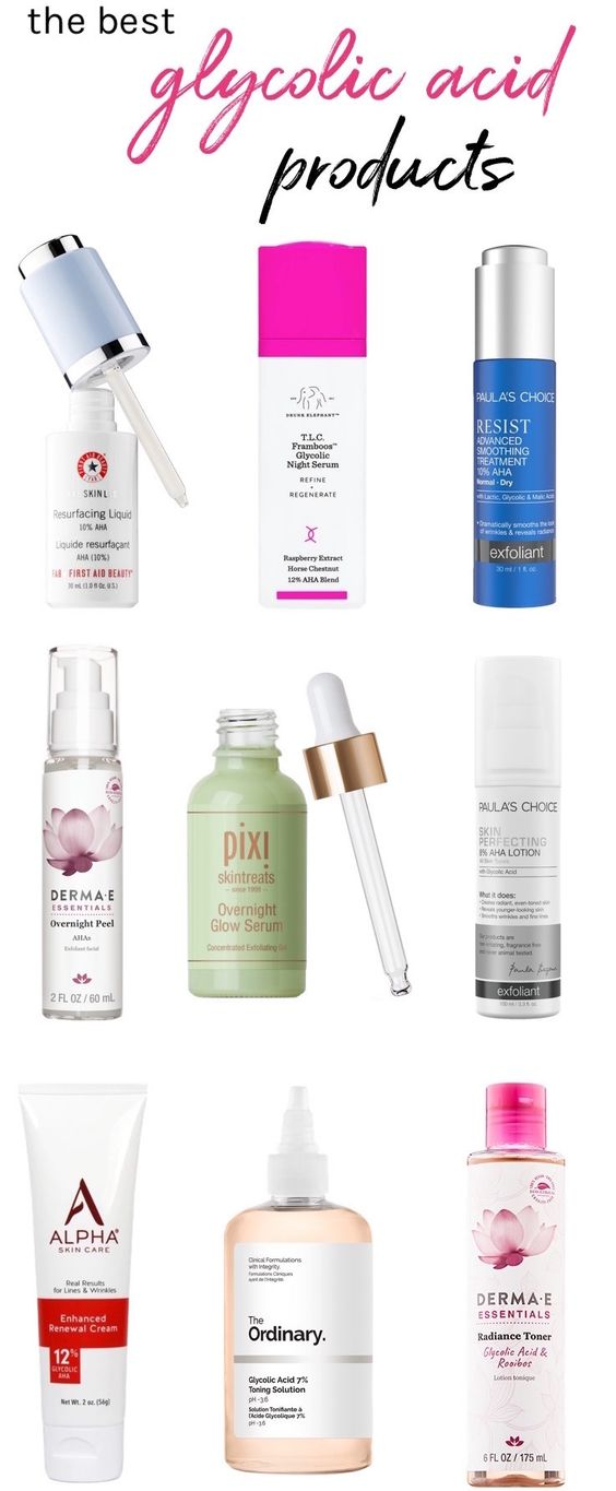 The best glycolic acid products that'll get you glowing | These skincare super-heroes will help you get rid of acne scars and hyperpigmentation while smoothing fine lines and wrinkles!