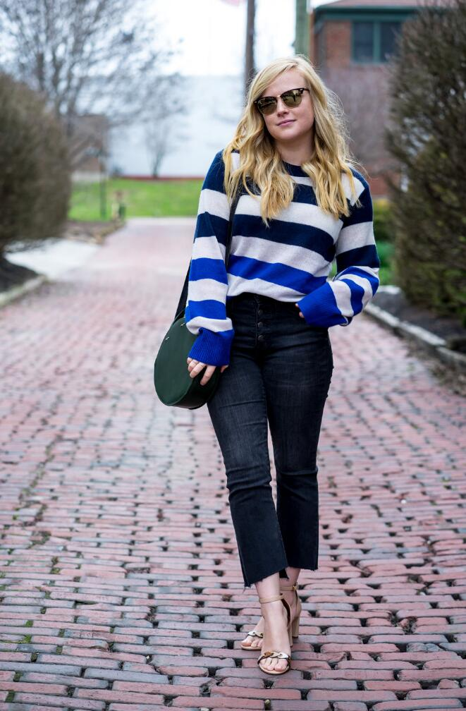 Cropped bootcut outfit ideas for spring