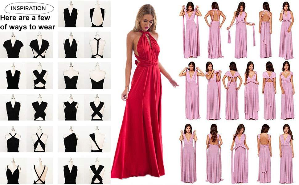 How to Wear an Infinity Dress