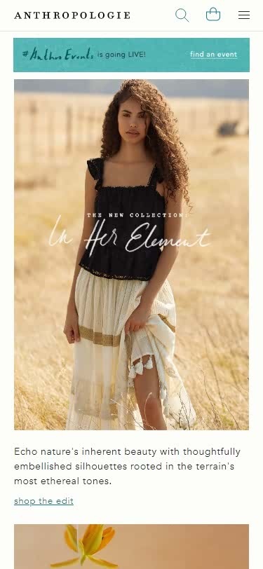 Plus-Size Clothing Websites -Anthropologie - Women's Clothing, Accessories & Home