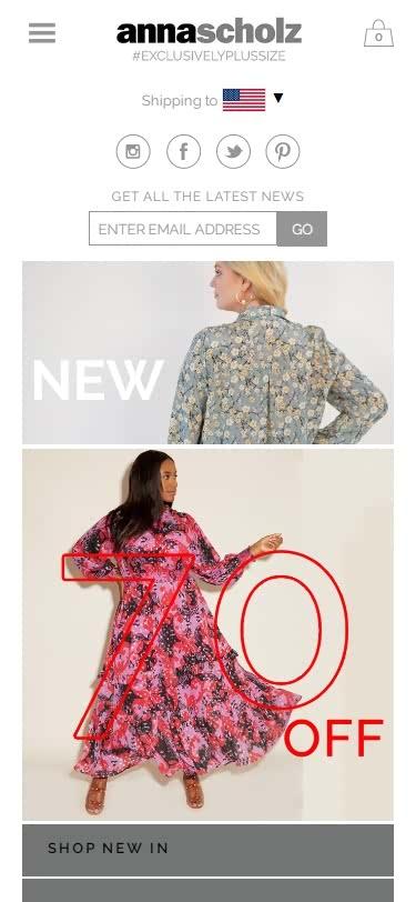 Plus-Size Clothing Websites -Designer Plus Size Fashion_ Stylish Women's Luxury Clothing