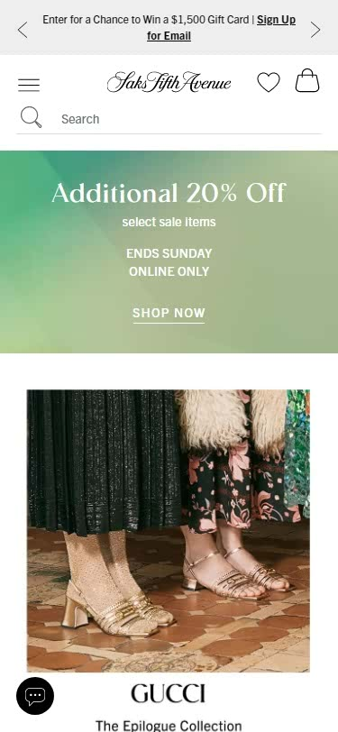 Plus-Size Clothing Websites -Designer Women's Apparel, Men's Apparel, Shoes & Handbags - Saks Fifth_