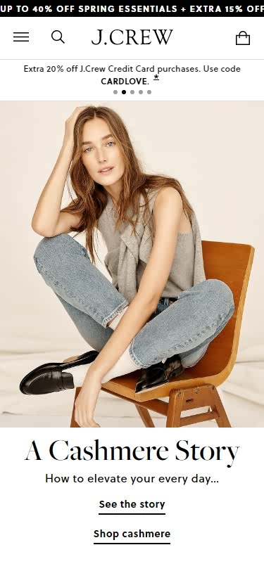 Plus-Size Clothing Websites -J.Crew - Cashmere, Shoes & Bags, Clothing For Women, Men And Kids