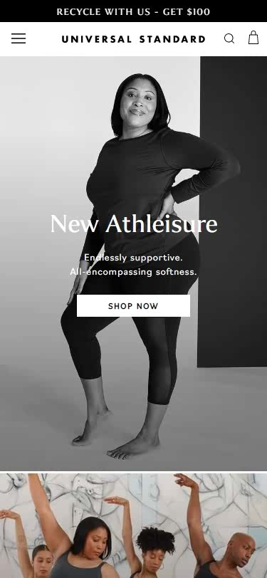 Plus-Size Clothing Websites -Universal Standard