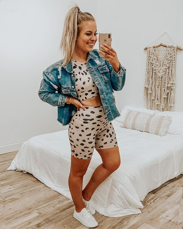 How to Style Biker Shorts - what to wear with Biker Shorts