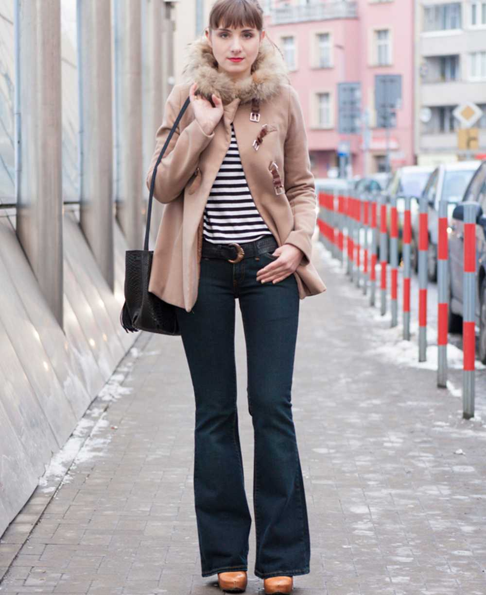 Bootcut jeans outfit by Jeanie Monika