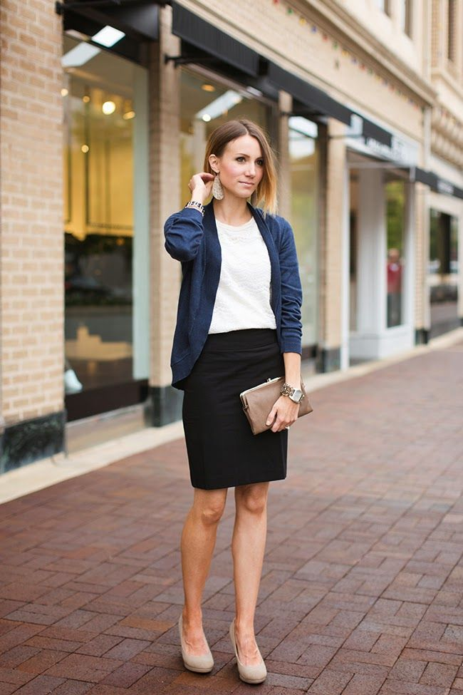ONE little MOMMA: Finding Balance Includes Me Time | Black pencil skirt outfit, Work outfits women, Pencil skirt outfits