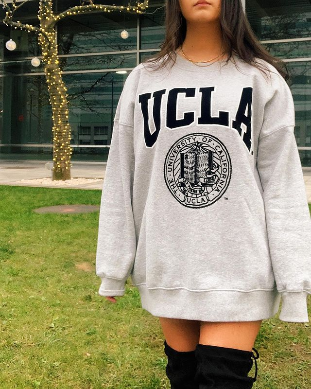 How to Wear Oversized Sweatshirt Outfits in the Season\'s Trendy New Ways